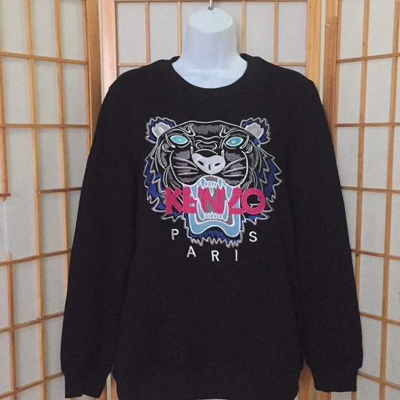 6032a4cf19b Kenzo Tops | Tiger Head Sweatshirt Ladies Sz M | Poshmark